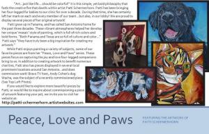VCA Leon Springs Promotes Local Pet Artist