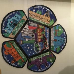 Alamo Area Boy Scouts Use Local Artists Design