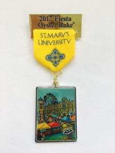 Artists Artwork On Fiesta Medal